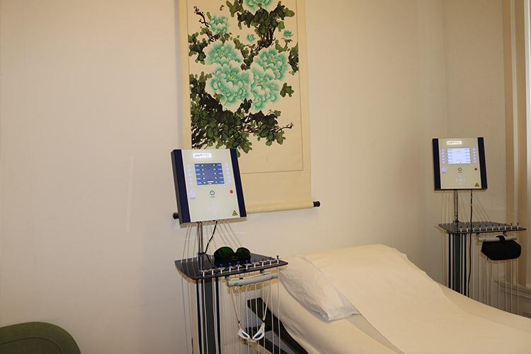Laserneedle-acupunctuur